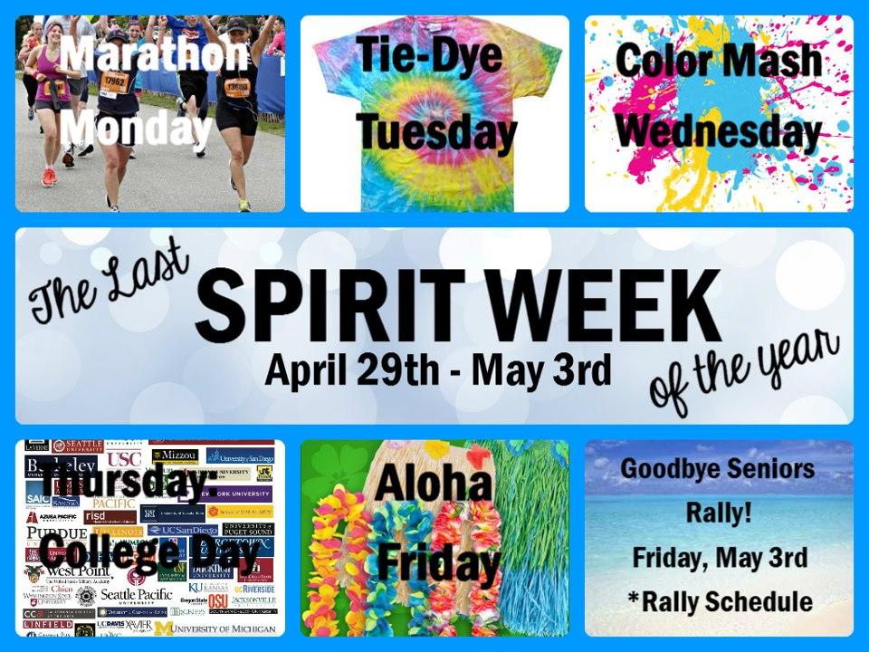 Last spirit week! Santa Teresa High School\u0027s Activities