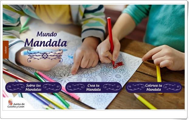 """Mundo Mandala"" (Aplicación de creación de mandalas en Primaria)"