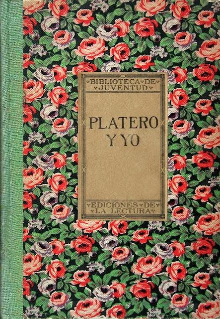 platero y yo, primera edición platero y yo, first edition platero and i, juan ramon jimenez, audiolibro platero y yo
