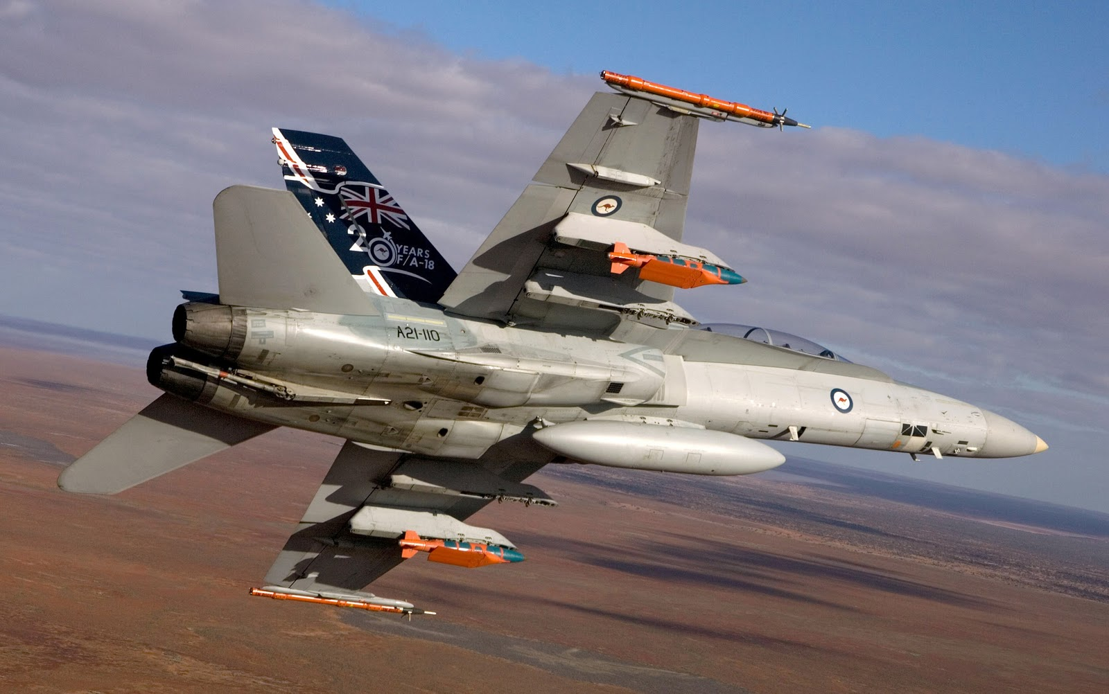 boeing f/a 18 hornet of raaf aircraft wallpaper 1886 - aeronef