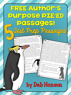 An upper elementary version of teaching author's purpose! The author of this blog post explains why she moved toward the PIE'ED approach to author's purpose. FREE worksheets and posters are included!