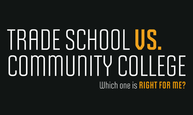 Trade School vs Community College