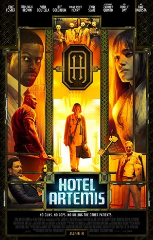 Hotel Artemis 2018 English Movie Free Download HD Cam