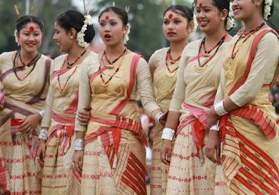 Rongali Bihu Festival