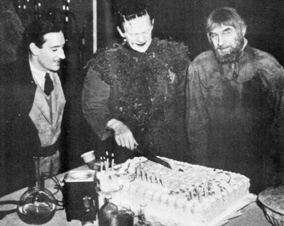 Boris Karloff Birthday Cake Gif