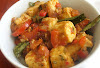 Paneer Tomato Curry with Indian and Thai Flavors