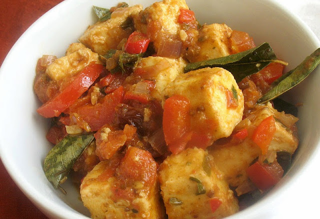 paneer tomato thai indo curry