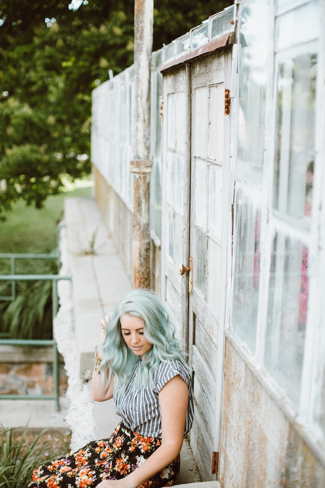 Mint Hair, The High Pines, Fashion Blogger