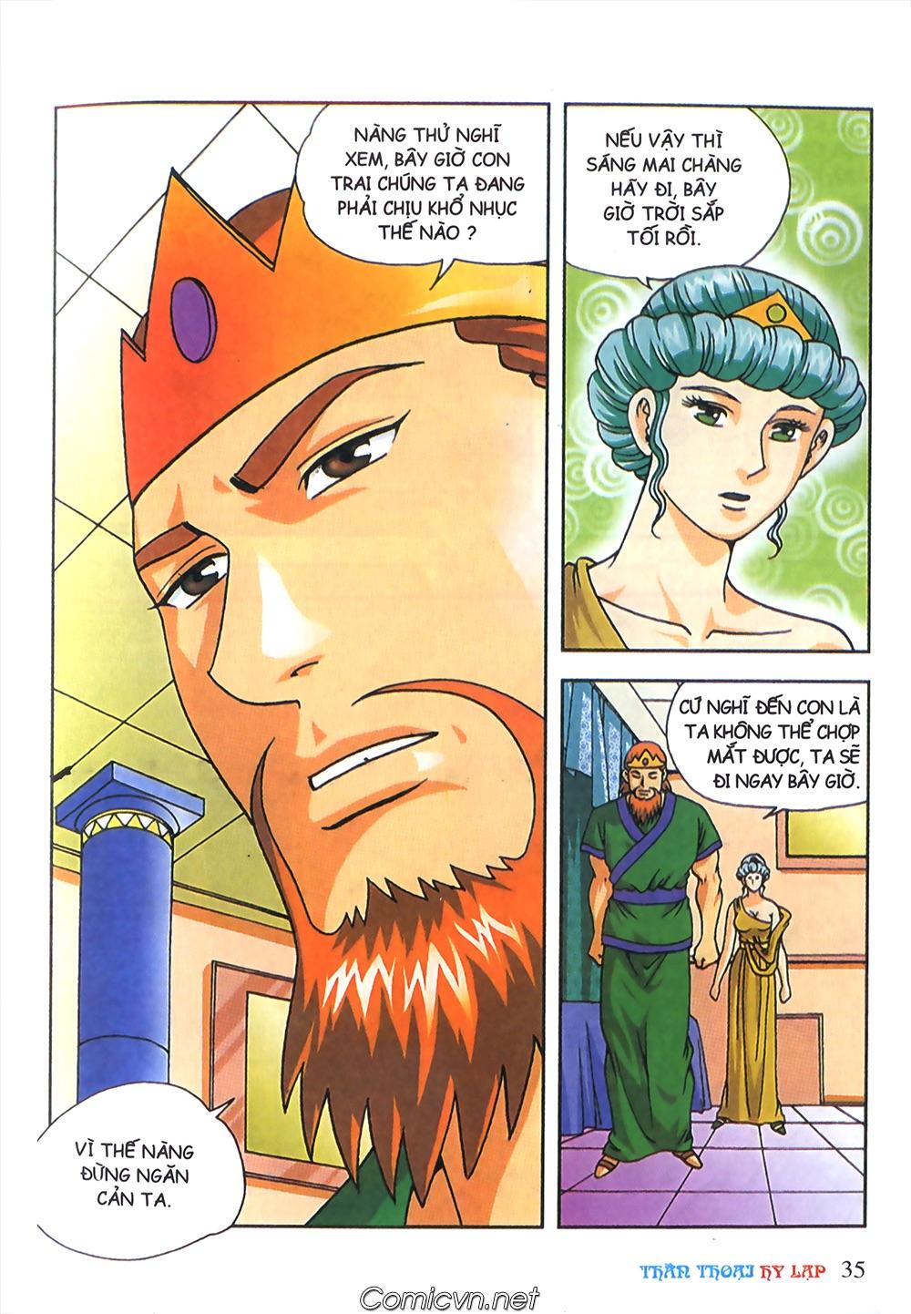 Thần Thoại Hy Lạp Màu - Chapter 63: Lão vương Pri am chuộc xác con - Pic 9