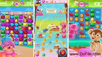 Candy Crush Jelly Saga APK Screen Shots