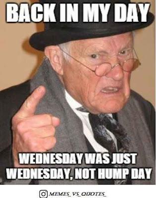 Wednesday is Wednesday