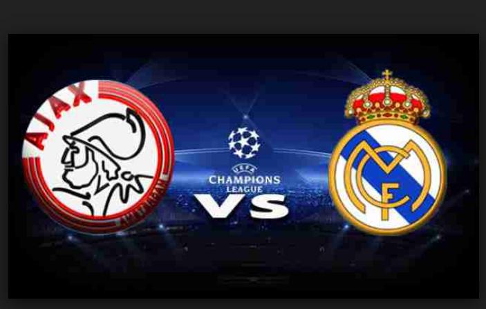 مشاهدة مباراة ريال مدريد واياكس أمستردام بث مباشر