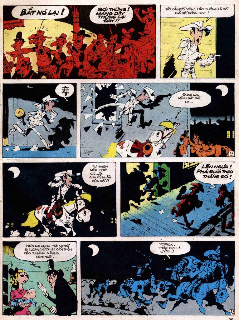 Lucky Luke tap 18 - ki si ao trang trang 27