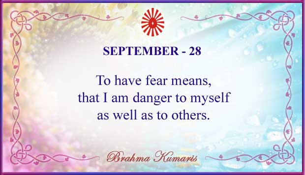 Thought For The Day September 28