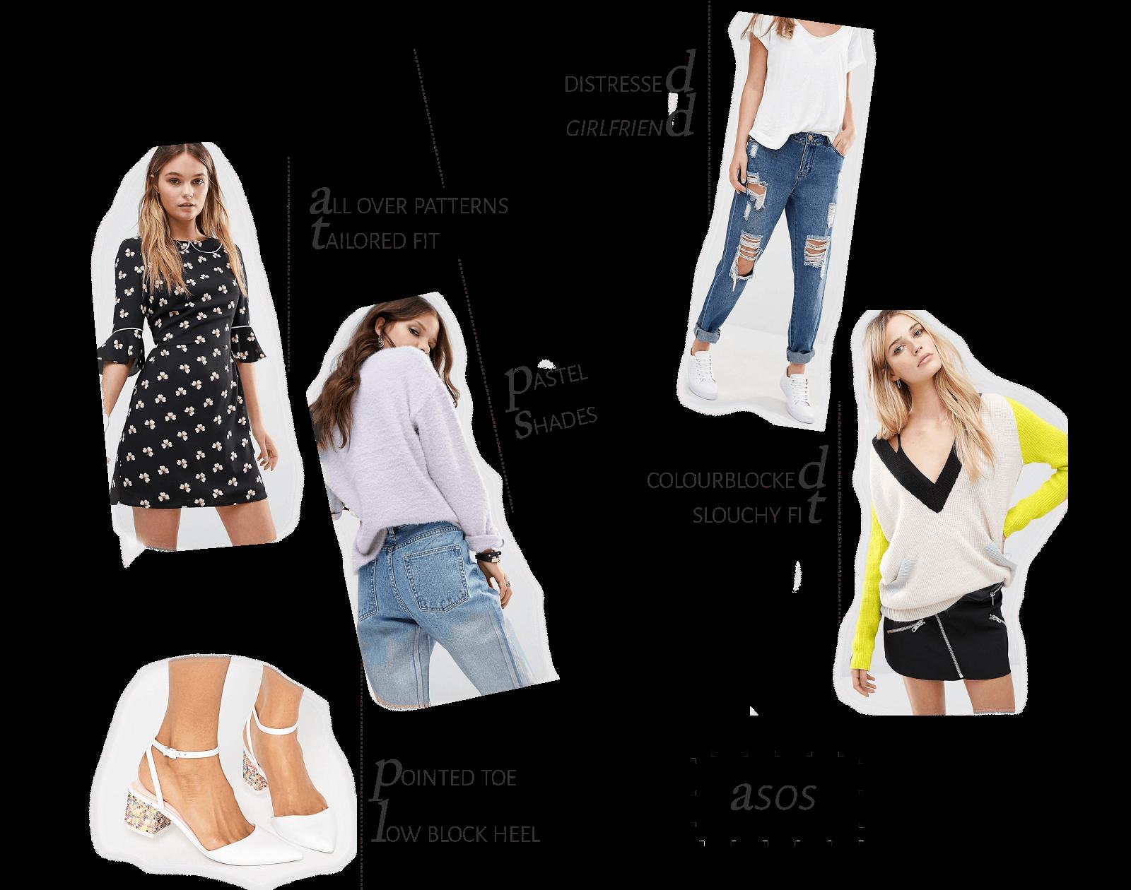 summer fashion wishlist asos uk style blogger
