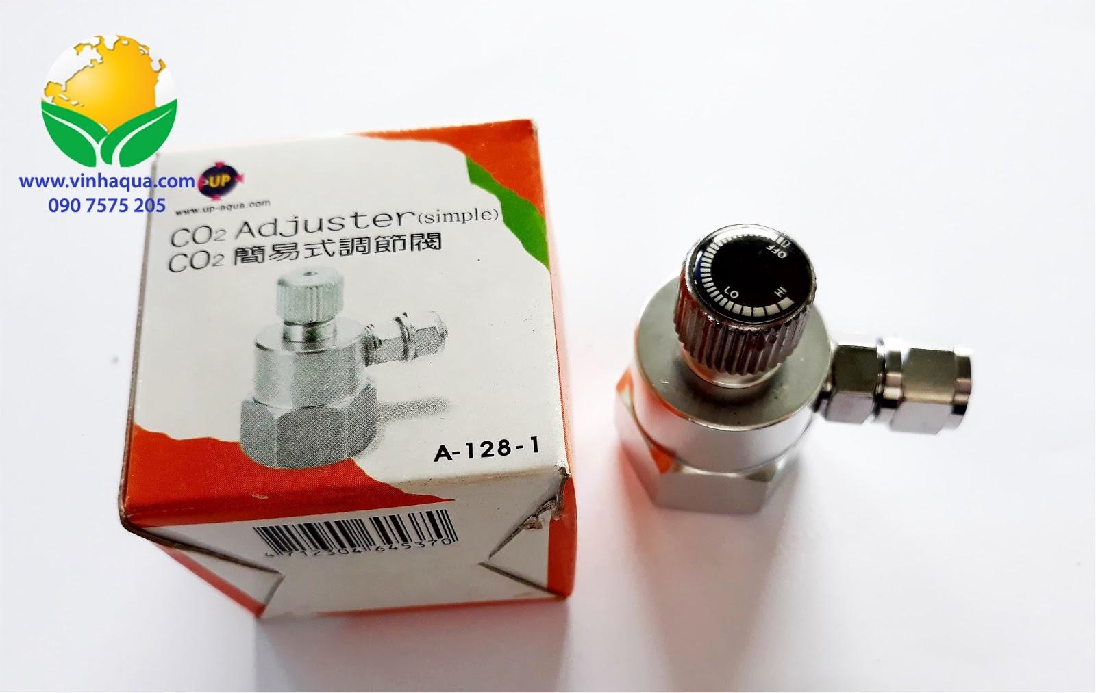 Van inox cho bình CO2 hồ thủy sinh Up Aqua A1281