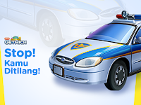 Rilis Pendant Stop Now Police Car