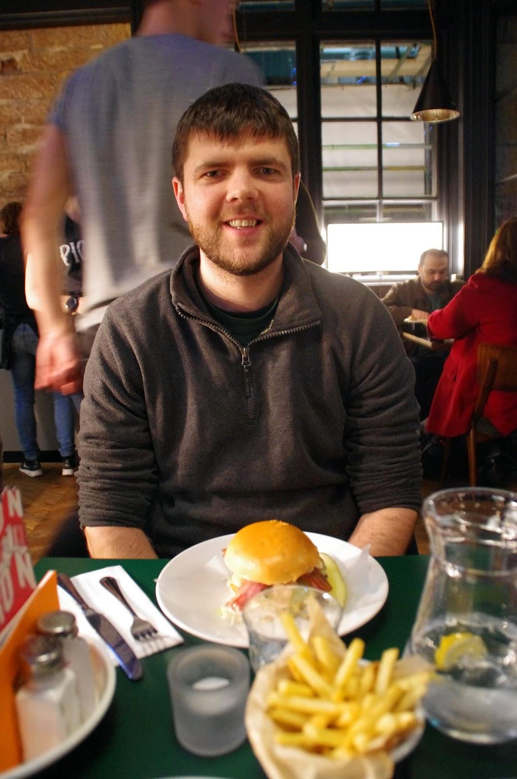 Byron Burgers Edinburgh Scotland