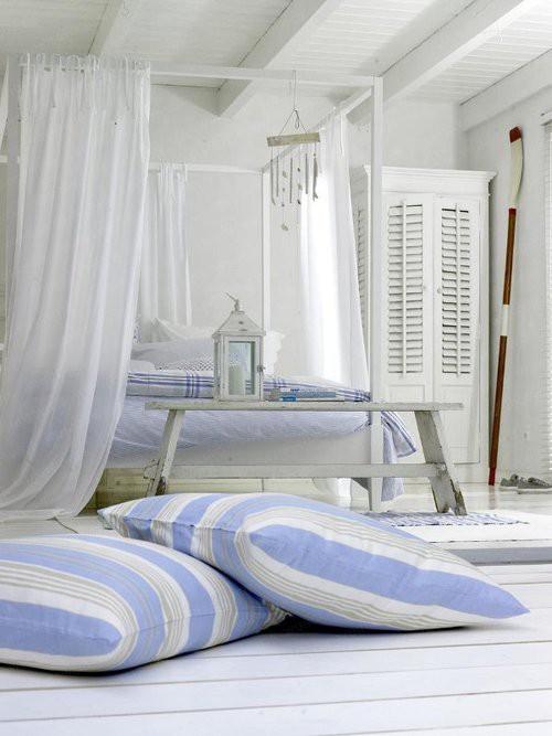 Azzurro dentro e fuori per la casa al mare blog di arredamento e interni dettagli home decor - Oggetti camera da letto ...