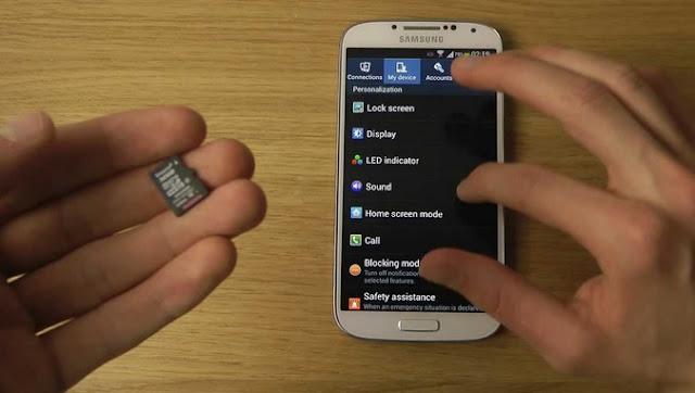 Cara mengatasi masalah Galaxy J2 yang tidak dapat mendeteksi kartu SD