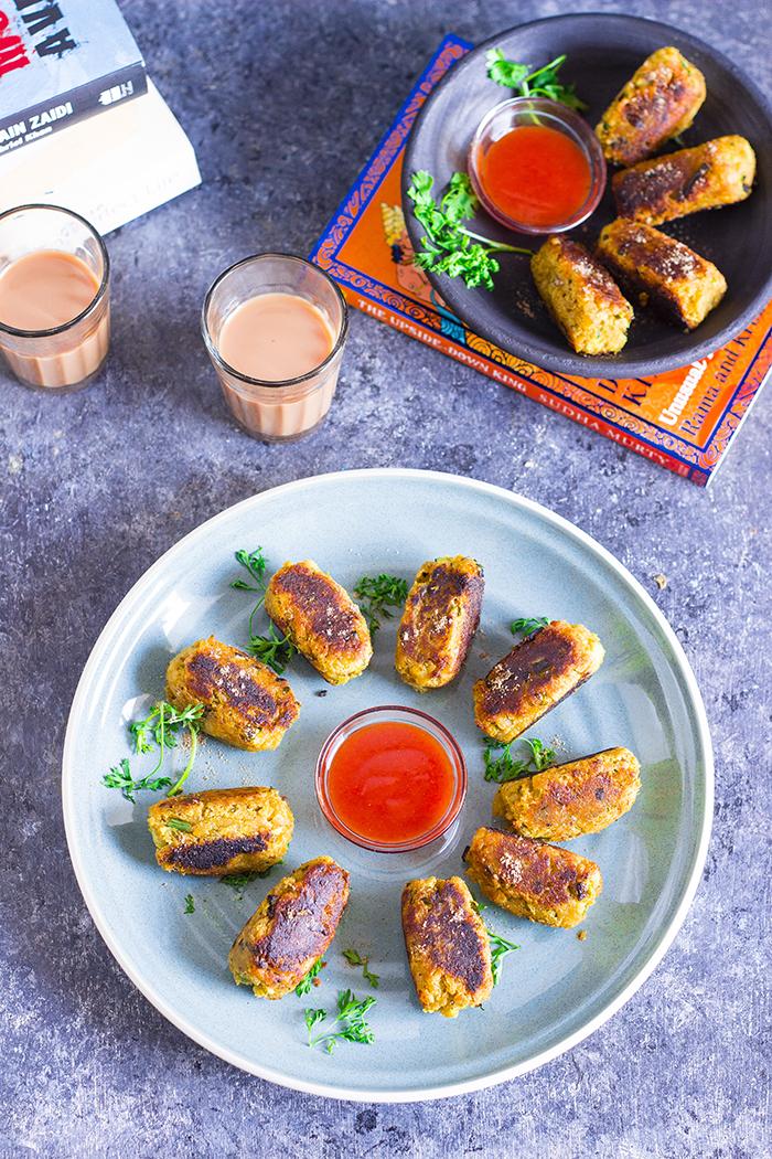 Sweet Potato Kebabs
