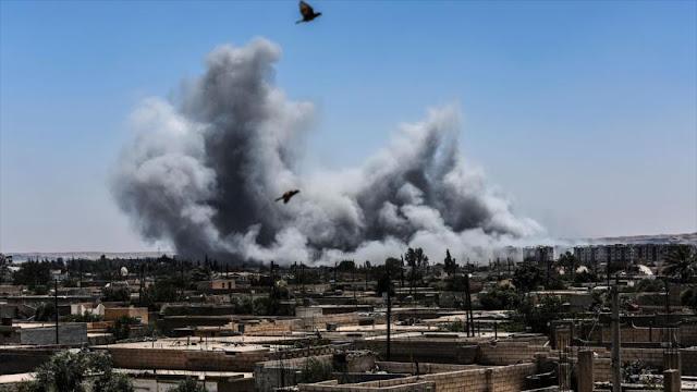 Siria a ONU: Ponga fin a la matanza de civiles en ataques de EEUU