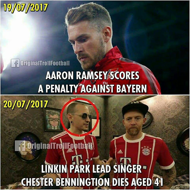 Kutukan Gol Ramsey Kembali memakan Korban