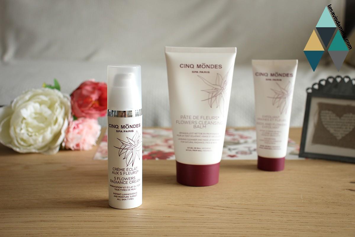 revue beauté soins cosmétiques cinq mondes