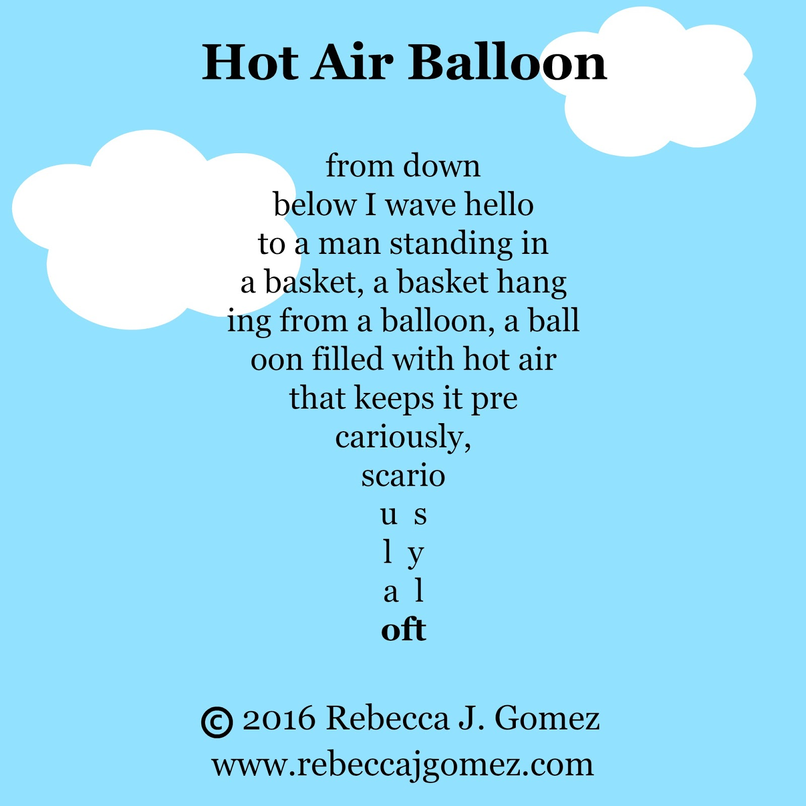 Ballad Poems About Balloons 36