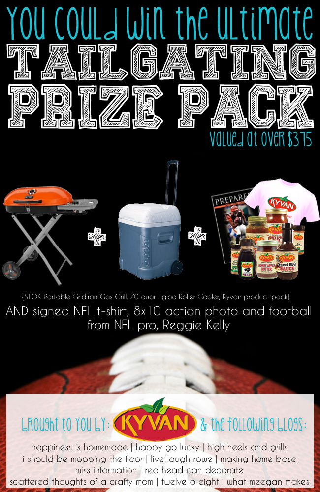 You Could Win The Ultimate Tailgating Prize Pack!