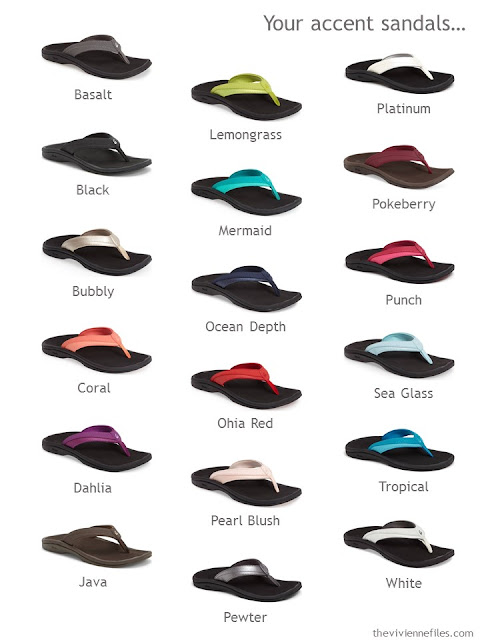 What color flip flops will you choose?