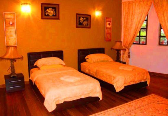 Casa Rasa Sayang Resort bilik tidur