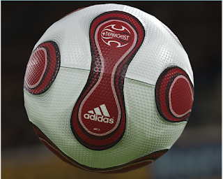 PES 2019 Balls Adidas Teamgeist Red by Vito Colangelo