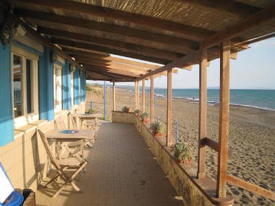 Michelin star restaurant La Pineta at Marina di Bibbona beach Tuscany