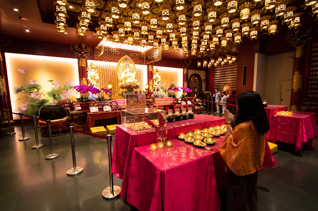 Buddha Tooth Relic temple-Singapore