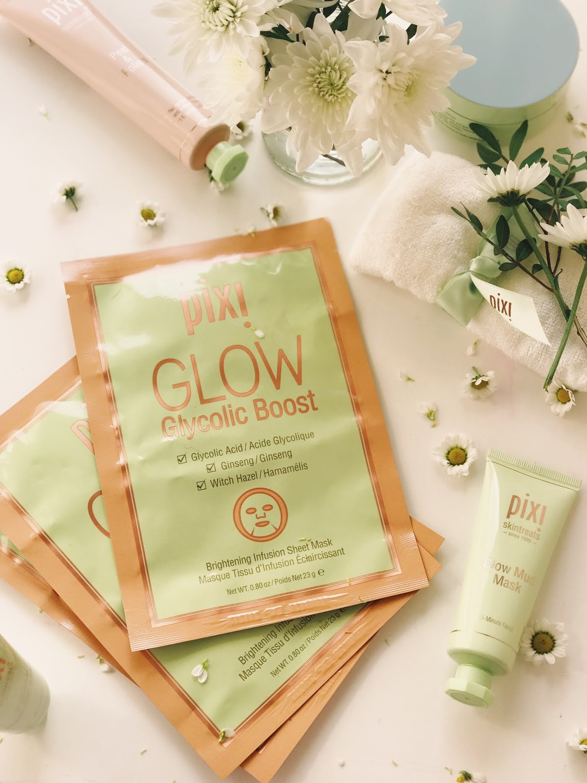 Pixi Glow Tonic Glycolic Boost Brightening Infusion Sheet Mask Review