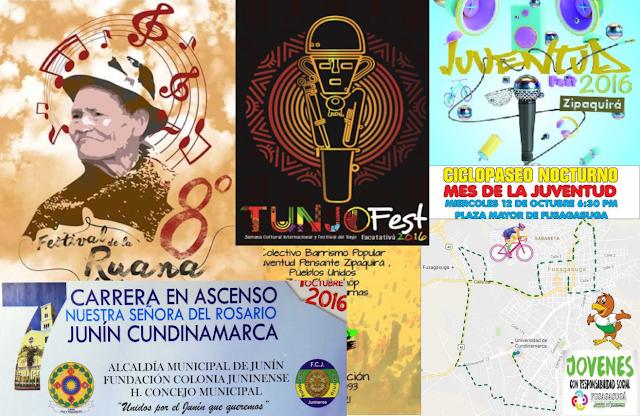 Cundinamarca se viste de cultura, deporte y juventud