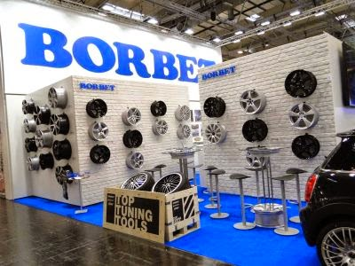 Borbet la Salonul International Raiffen Messe 2014