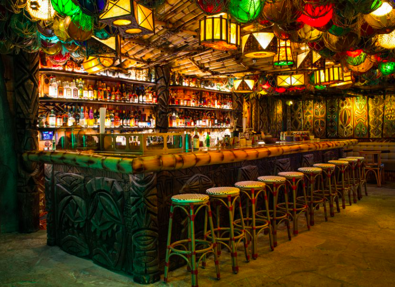Sandiegoville San Diego S False Idol Tiki Speakeasy