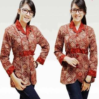 baju batik pesta ivan gunawan