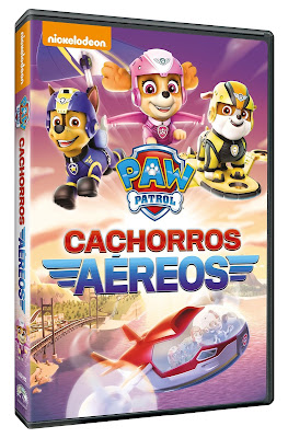 Paw Patrol Cachorros Aéreos 2017 DVD R4 NTSC Latino