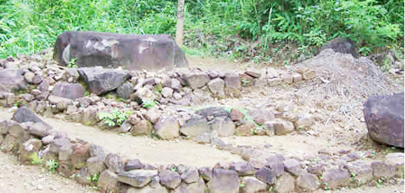 Peninggalan Arkeologis di Gunung Susuru