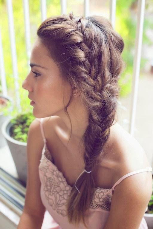 We love braids for summer hairstyles