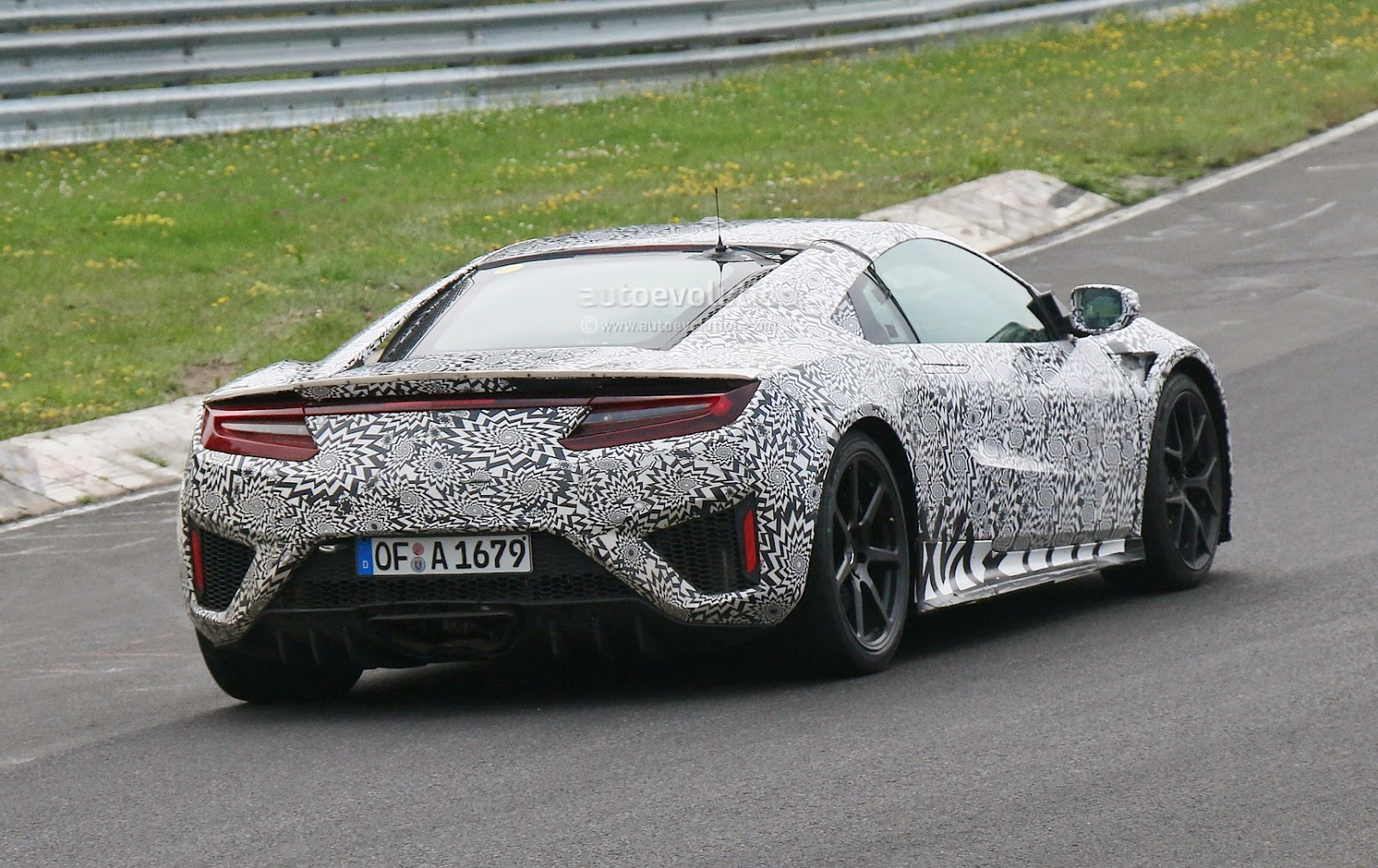 Pizo: 2015 Honda NSX Spotted via Nurburgring