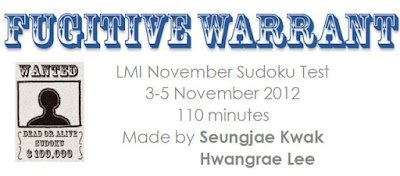 Fugitive Warrant-LMI Sudoku Test