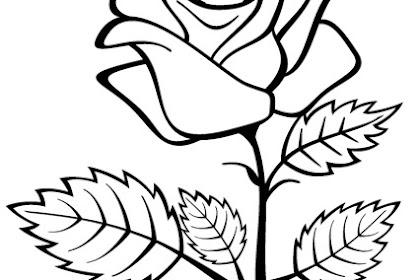 Dibujos Para Colorear De Corazones Con Rosas