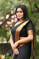 Poorna in Cute Backless Choli Saree Stunning Beauty at Avantika Movie platinum Disc Function ~  Exclusive 141.JPG