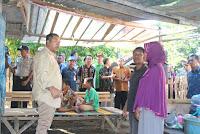 Walikota Tinjau Rumah Warga Korban Banjir