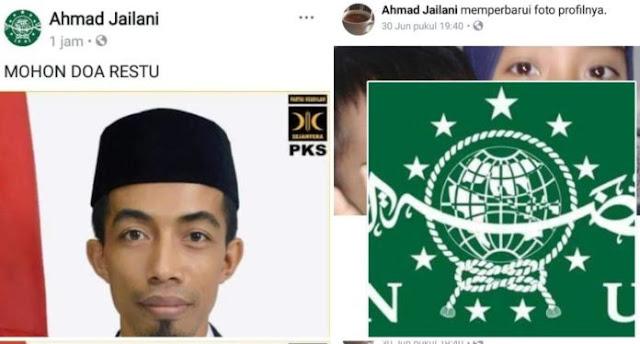Warga Nahdliyin Berang, Alumni PERSIS Camplong Sampang Madura Yang Juga Ketua PKS Pamekasan Catut Logo NU Tanpa Izin