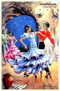 Trajes y bailes típicos de Andalucía - Alberto Iraola - 01